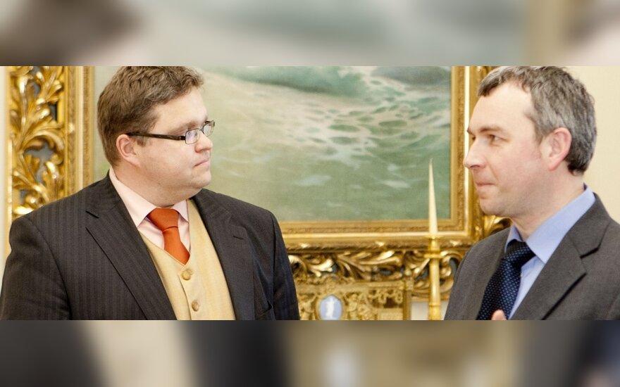 Vitas Vasiliauskas ir Raimondas Kuodis