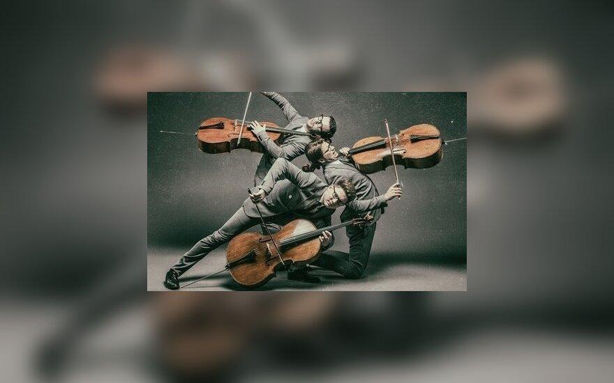 В Вильнюсе выступит Трио виолончелистов Mello-M