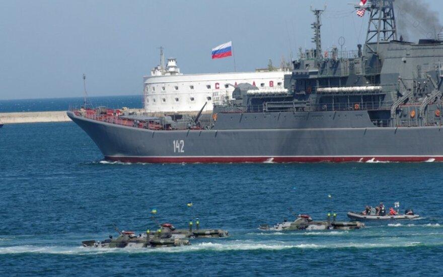 Российский флот на учениях заподозрили в деморализации украинцев