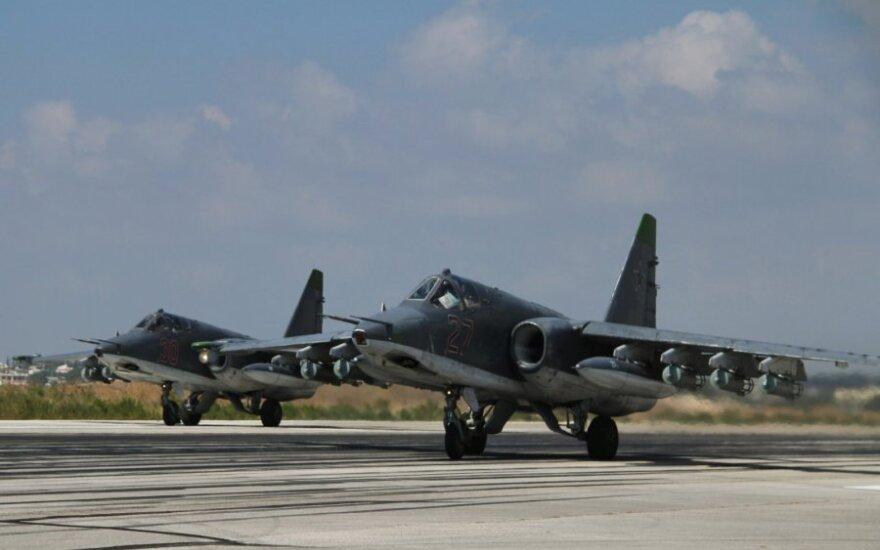 Москва рассказала о контакте с истребителем США в Сирии