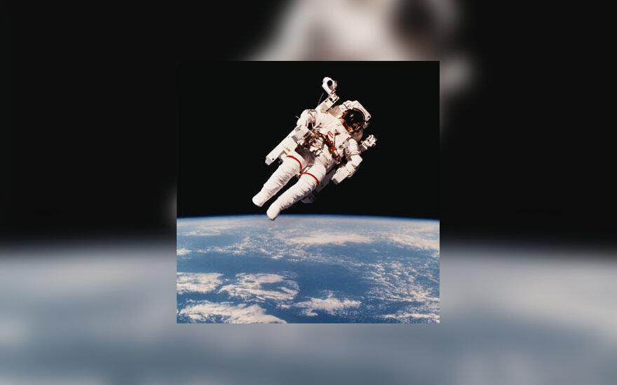 kosmonautas, kosmosas, visata