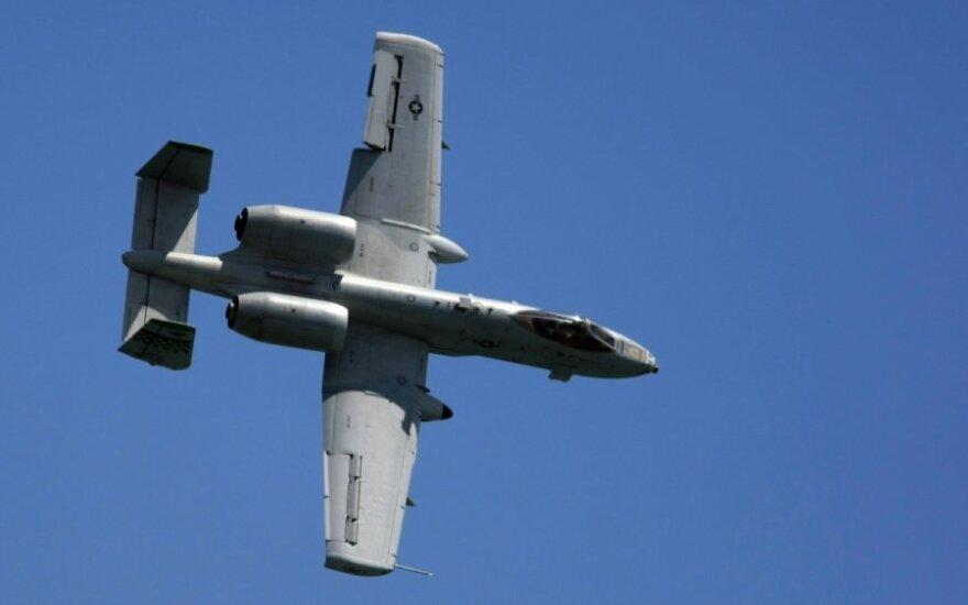 12 szturmowych samolotów USA przyleci do krajów bałtyckich