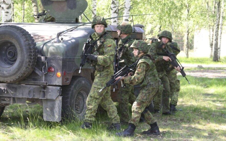По Литве будут колесить танки