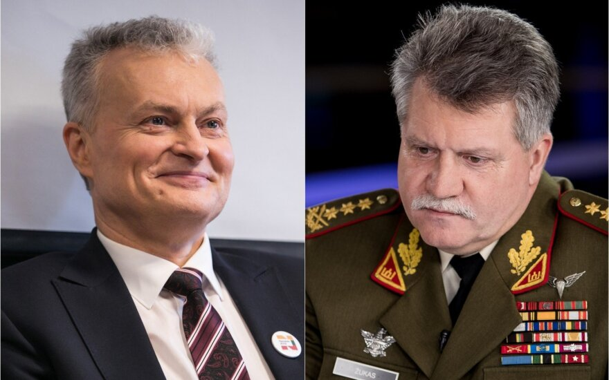 Gitanas Nausėda ir Vytautas Žukas