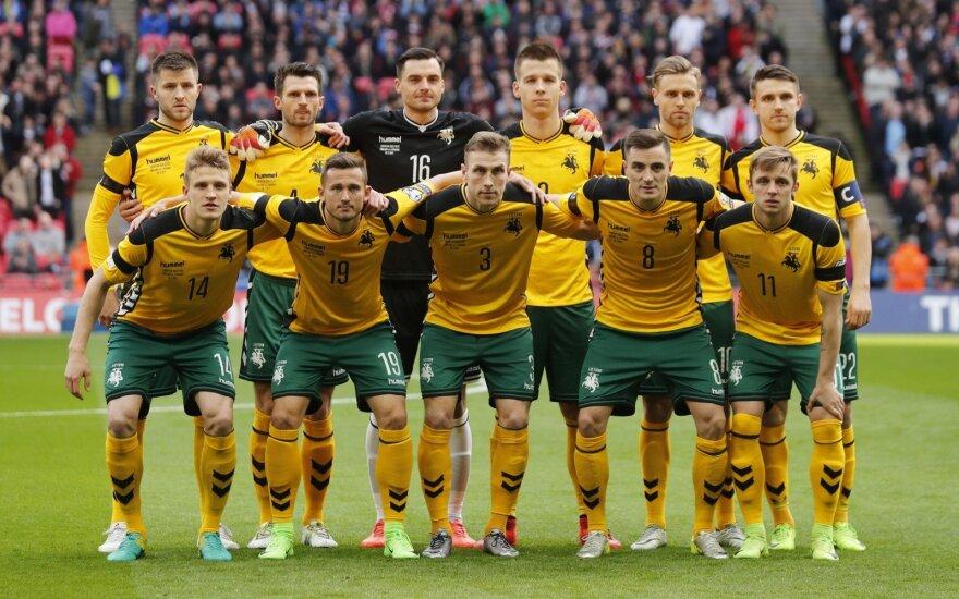 В рейтинге FIFA Литва опустилась на рекордно низкое место
