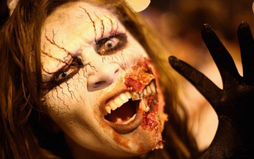 helovinas, zombiai, paradas
