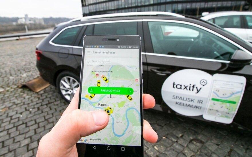 Taxify, R. Tenio nuotr.