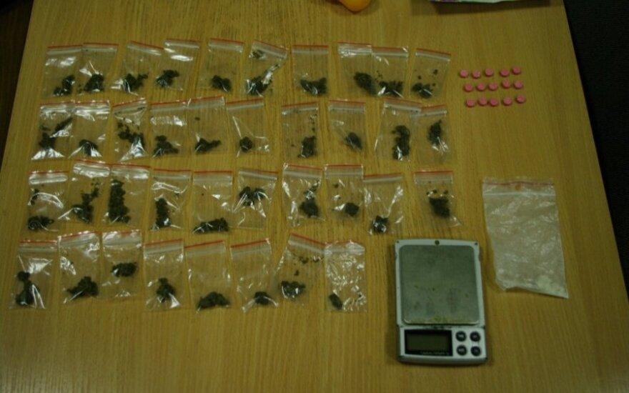 В Вильнюсе ликвидировали еще одну точку торговли наркотиками