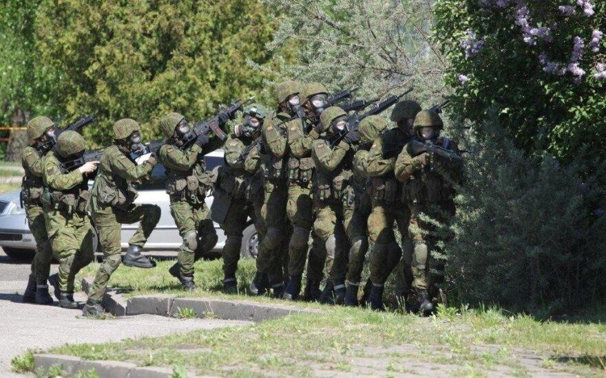 Жители Литвы смогут наблюдать за военными учениями