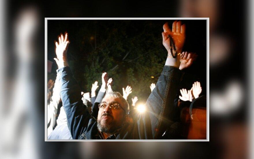 Оппозиция Грузии митингует у тбилисской мэрии