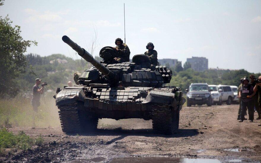 Пресс-центр АТО: сепаратисты за ночь обстреляли силовиков почти сотню раз