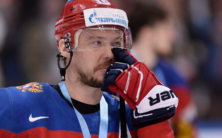 Мозякин стал лучшим снайпером в истории российского хоккея