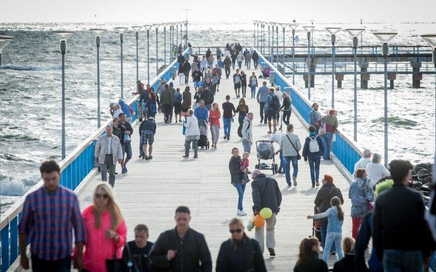 В Палангу приезжает все меньше россиян