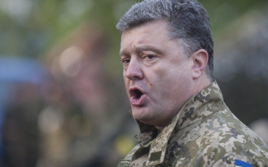 Порошенко готов ввести военное положение по всей Украине