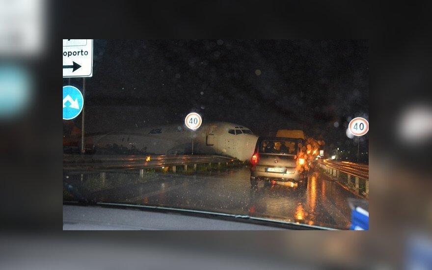 В итальянском аэропорту Бергамо потерпел аварию самолет DHL