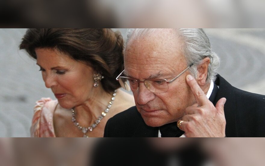 Švedijos karaliai - Carlas XVI Gustafas ir Silvia