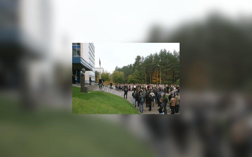 Бастующие преподаватели вузов: Литва превратится в страну баобабов