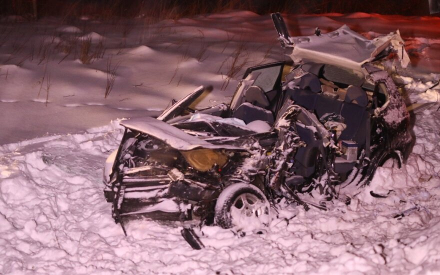 Трагедия в Вильнюсском районе: два человека погибли