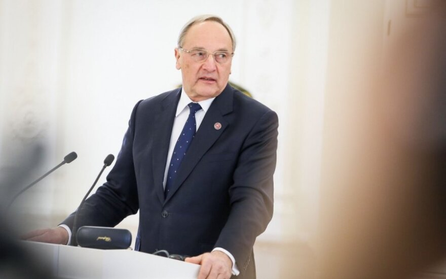 Latvian President Andris Bērziņš