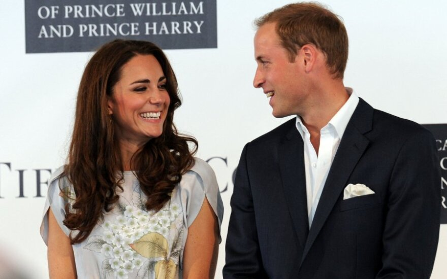 Princas Williamas ir Kate Middleton Holivude