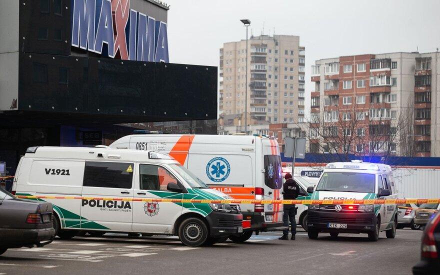 В Вильнюсе из магазина Maxima эвакуировали людей из-за найденного в туалете предмета