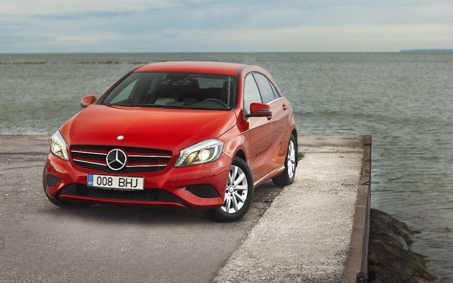 Тест-драйв Mercedes-Benz A-class: А-классно!