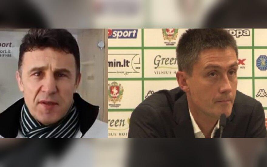 Marek Zub i Mariusz Rumak