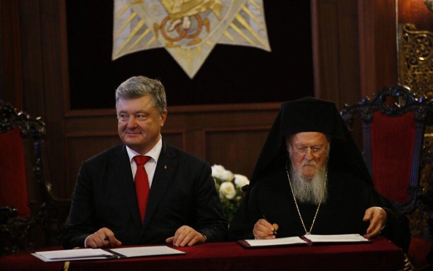 Petro Porošenka ir Baltramiejus I