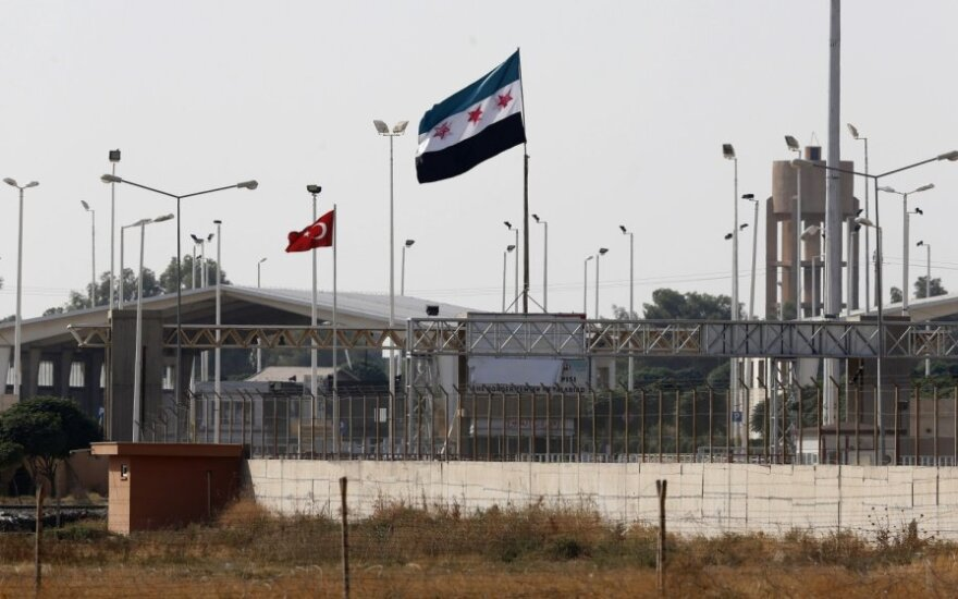 Sirija atakavo Turkijos pasienį