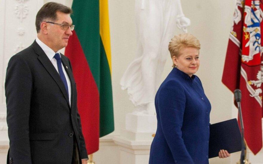Премьер ответил Президенту: мы должны уважать всех граждан Литвы