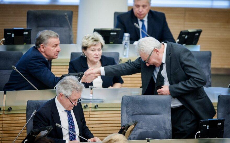 В парламенте зарегистрированы поправки к ТК, но многие предложения президента отклонены