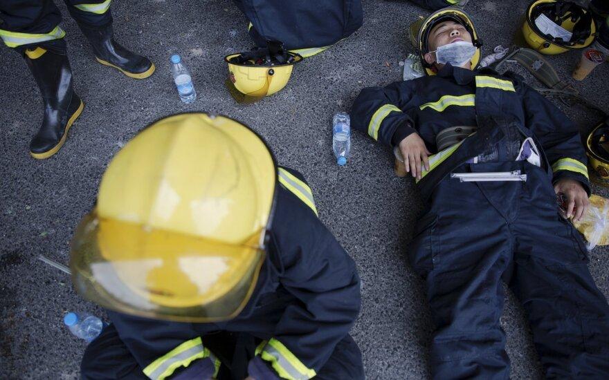 На месте взрывов в Китае нашли цианид натрия
