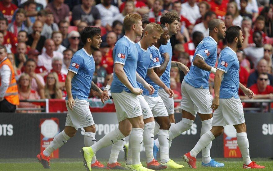 Manchester City futbolininkai