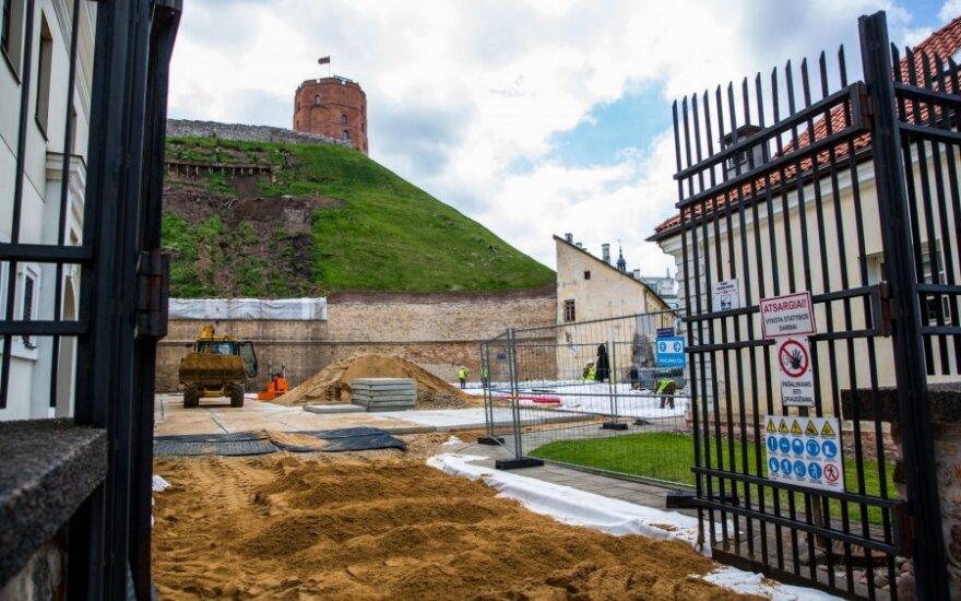 Гора Гедиминаса снова открыта для посетителей