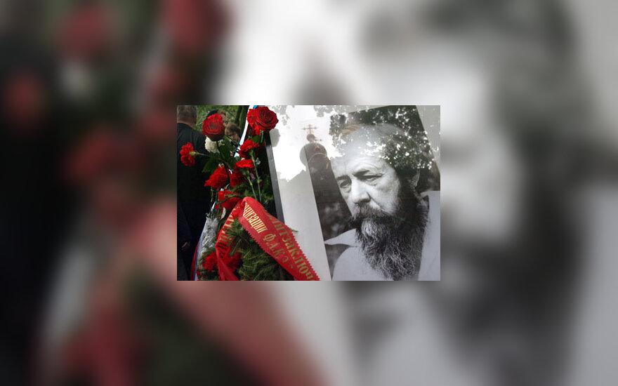 A.Solženicyno portretas