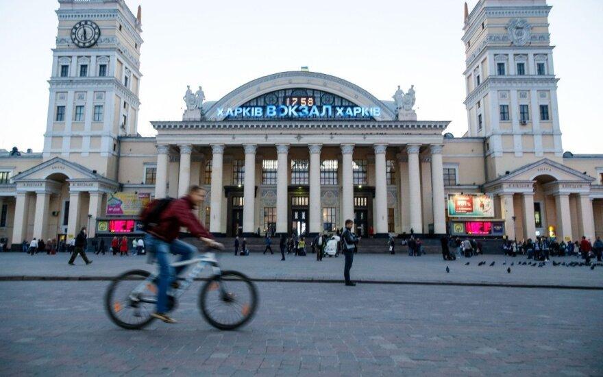 В Харькове произошли столкновения на митинге против возвращения проспекта Жукова