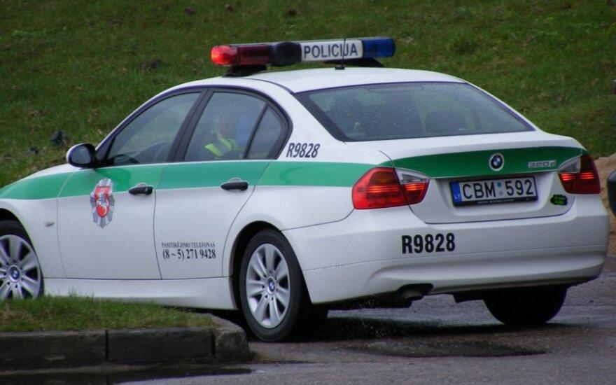 В Вильнюсе с места ДТП сбежал сбивший женщину велосипедист