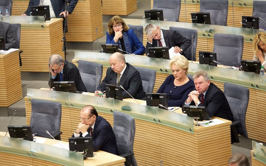 "Сейм одобрил реформу ""Содры"" и пенсий"