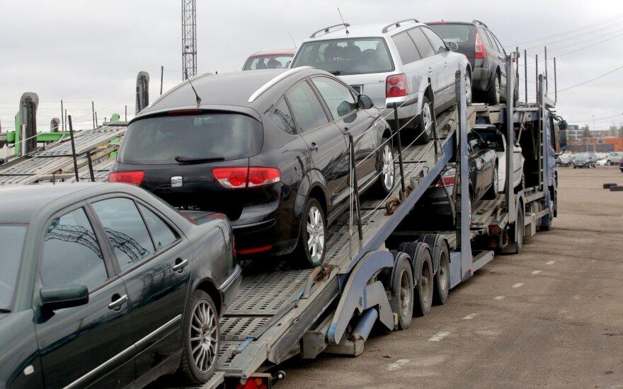 Рынок новых автомобилей в Литве в апреле вырос на 153%