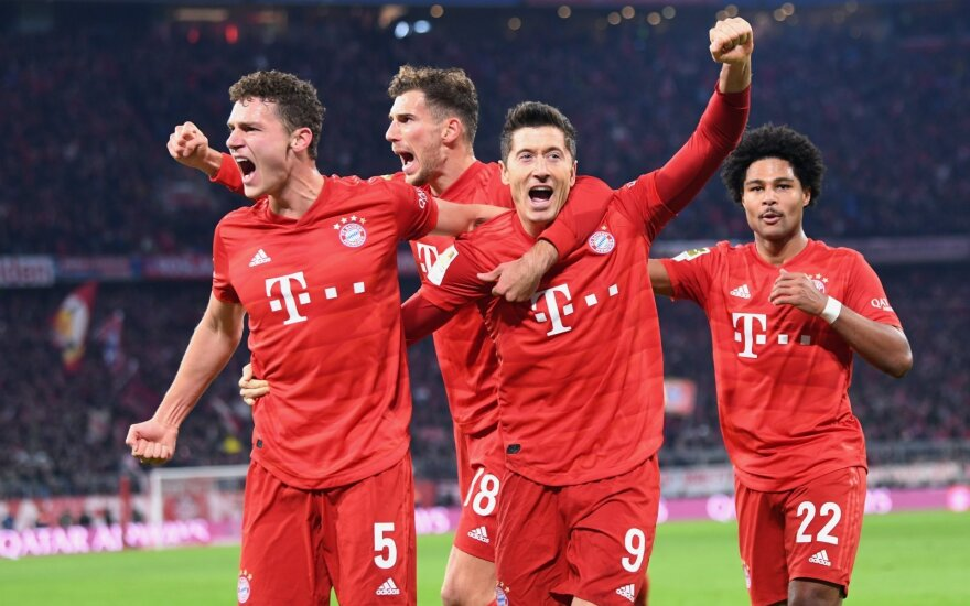 "Miuncheno ""Bayern"", Robert Lewandowski"