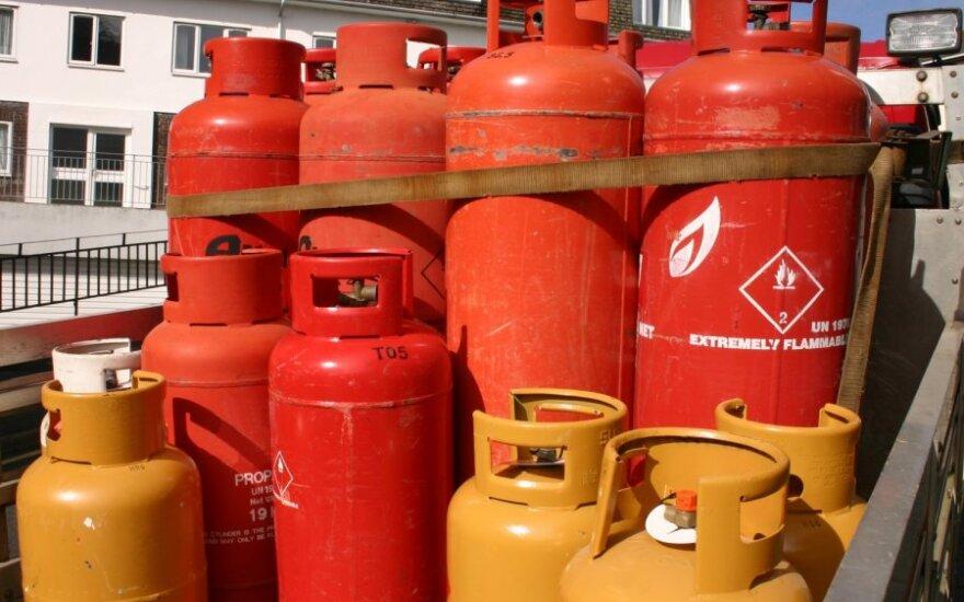 В многоквартирных домах держать газовый баллон запрещено: желающим от них отказаться помогут