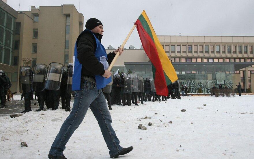 В четверг у здания парламента состоится митинг