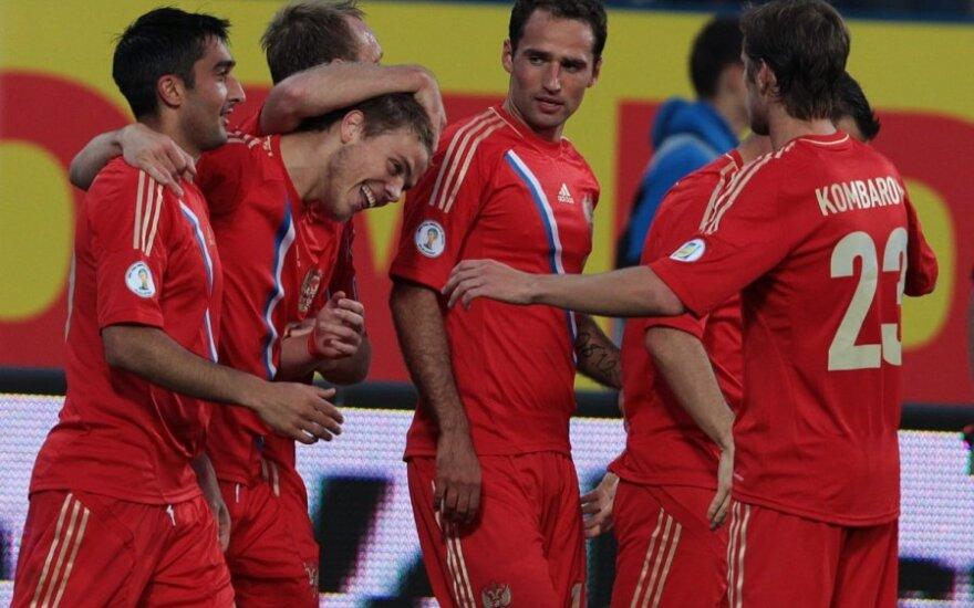 Россия поднялась в топ-20 рейтинга ФИФА