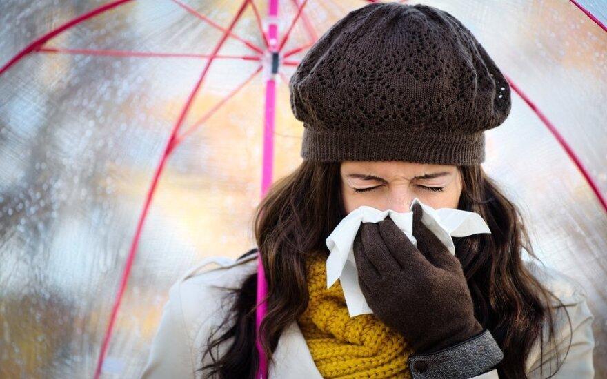 В Литве растет уровень заболеваемости гриппом