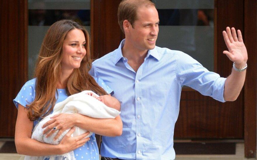 Nowo narodzonemu brytyjskiemu księciu nadano imię