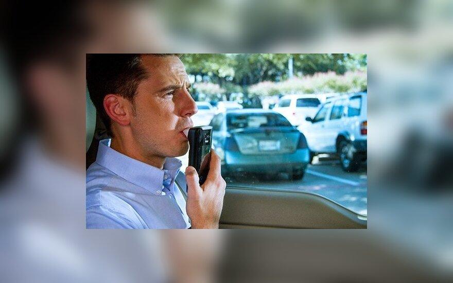 Требование нулевого промилле в Литве нарушили 403 водителя