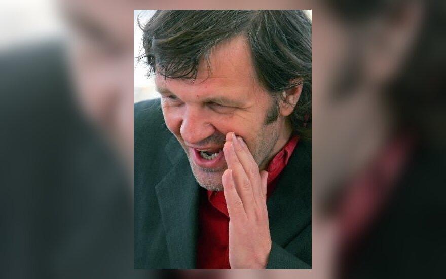Emiras Kusturica - Kanų festivalio komisijos pirmininkas.
