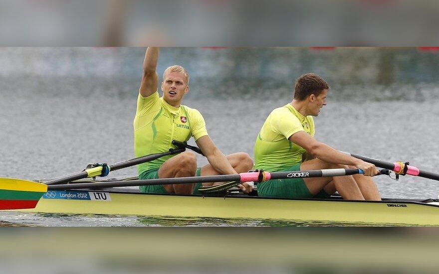 Saulius Ritteris ir Rolandas Maščinskas