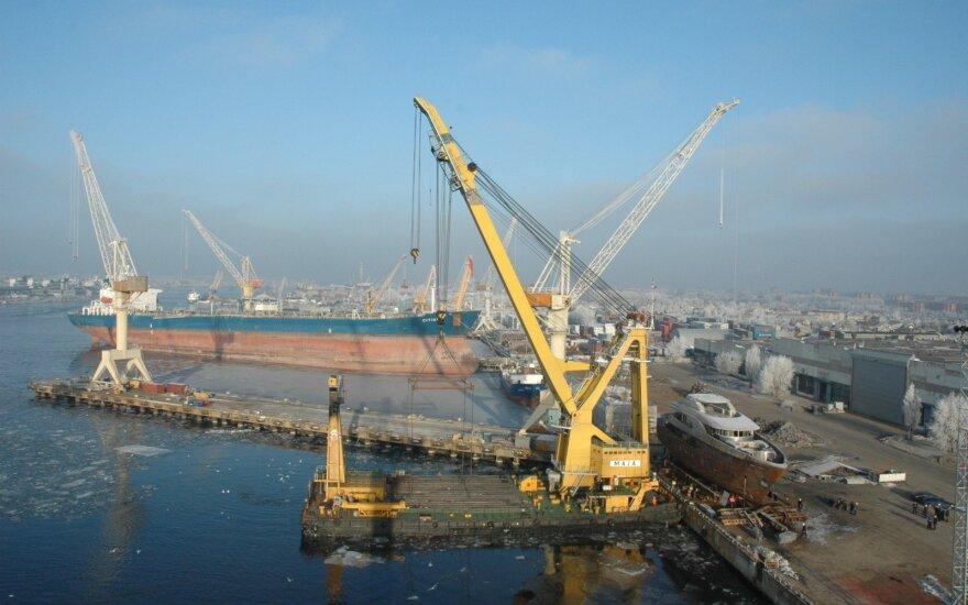 Причалы Клайпедского порта реконструируют Latvijas tilti и Borta