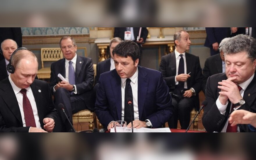 Баррозу: Порошенко и Путин договорились о полном исполнении Минского протокола